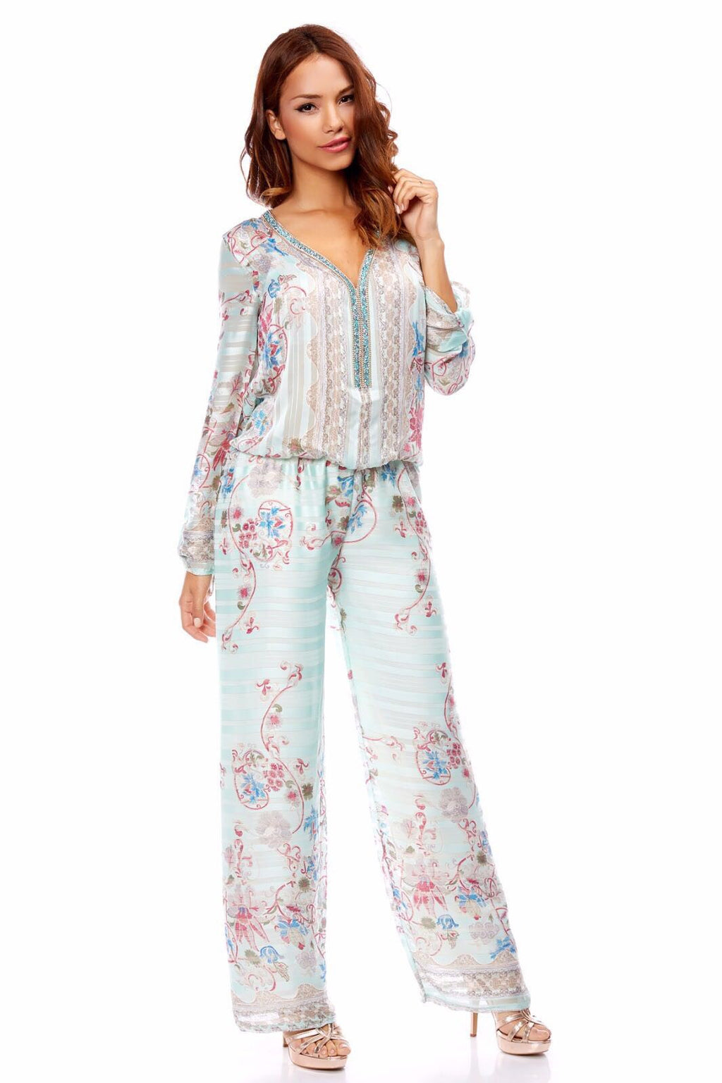 FLOWERS Jumpsuit