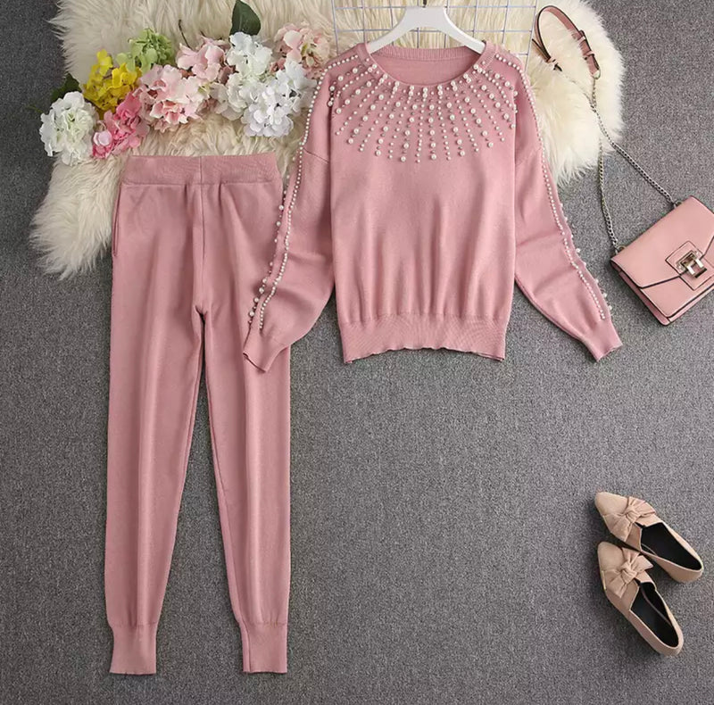 PEARLA PINK SET