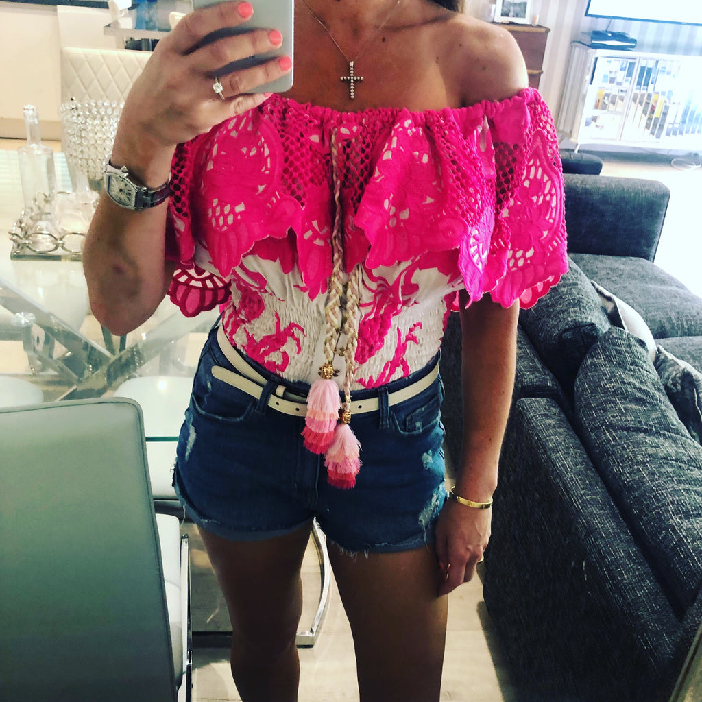 ISLA FUSCHIA TOP