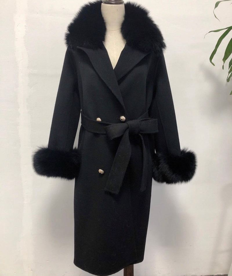 MIMI BLACK COAT