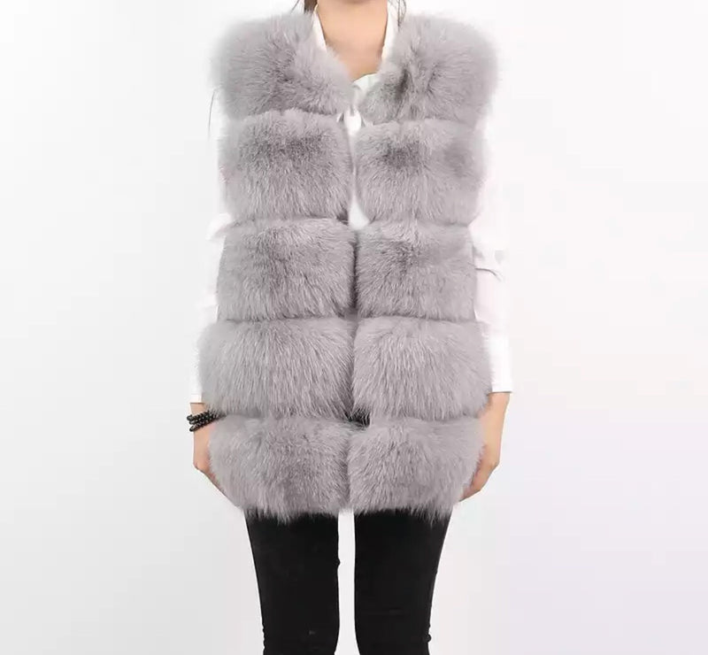 REGAL Light Grey Gilet