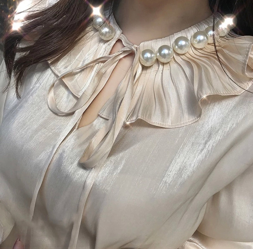 SHELLY PEARL BLOUSE