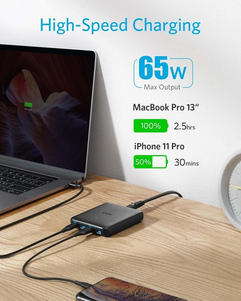 PowerPort Atom III 4-Port Desktop Charger