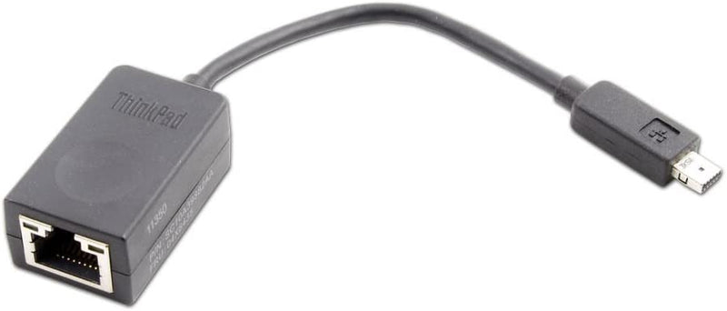 Lenovo 4X90F84315 ThinkPad Ethernet Extension Cable, Black