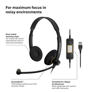 Sennheiser SC 60 USB ML (504547)