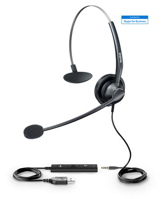 Yealink Headset UH33 - Certified Skype for Business