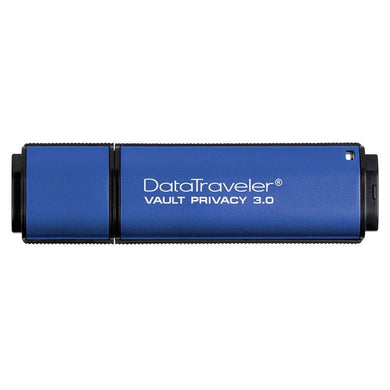 Kingston Digital 8GB Data Traveler AES Encrypted 256Bit 3.0 USB Flash Drive (DTVP30)