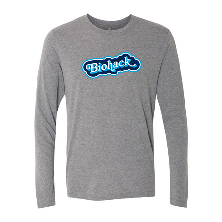 Biohack Cloud Blue Long Sleeve Tee