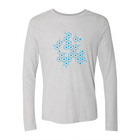 Icon Links Light Blue Long Sleeve Tee