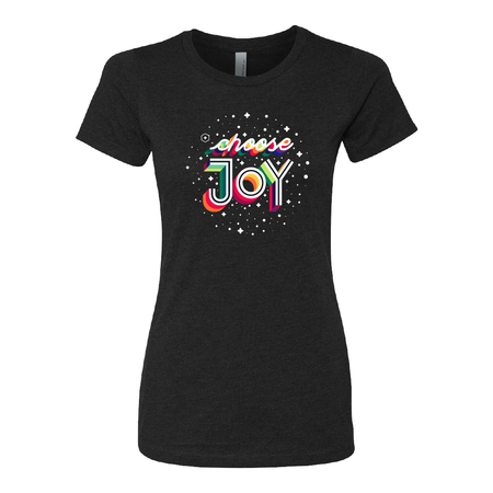 Women's Life Vantage Choose Joy Logo Tee