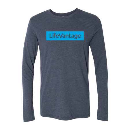 LifeVantage Light Blue Long Sleeve Tee