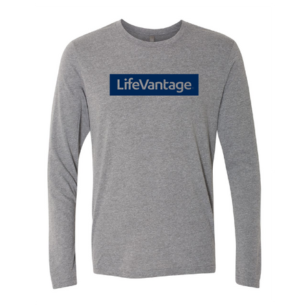LifeVantage Navy Long Sleeve Tee