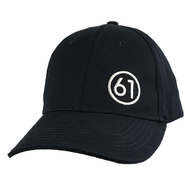 Circle 61 Hat - Navy Front View
