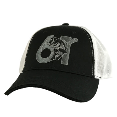 61 Hook Bass Hat - Black, Front