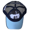 61 Hook Bass Hat - Blue, Inside