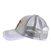 61 Hook Trucker Hat - White, Side