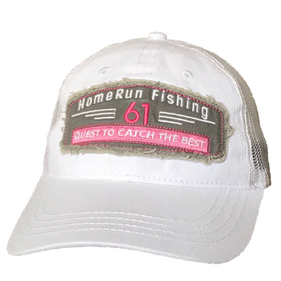 61 Fish/Catch Ladies Patch Hat