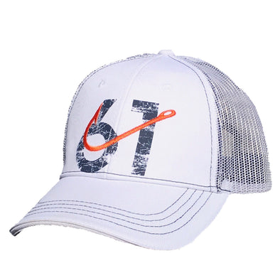 61 Hook Trucker Hat - White Front