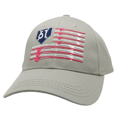 Fishing Pole Flag Hat