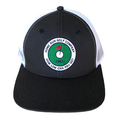 Image of How Low Golf Hat navy front