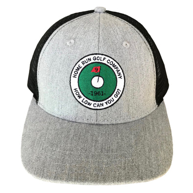 How Low Golf Hat - Gray Heather