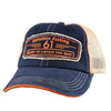 61 Fish/Catch Navy Patch Hat, Front