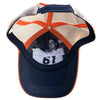 61 Fish/Catch Navy Patch Hat, Inside
