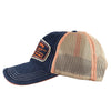 61 Fish/Catch Navy Patch Hat, Side
