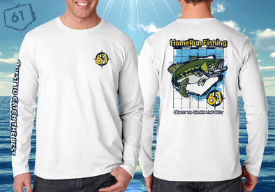 Front/Back image of HRF Bass performance shirt