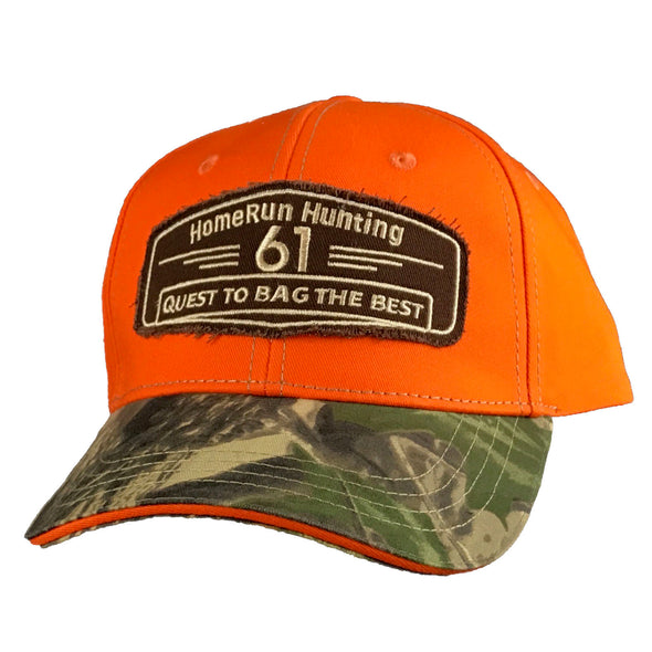 61 Hunt/Bag Orange Patch Hat, Front