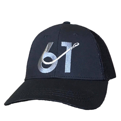 61 Hook Trucker Hat - Black