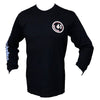 Image of Front Mounted Racks Tee Black Long Sleeve