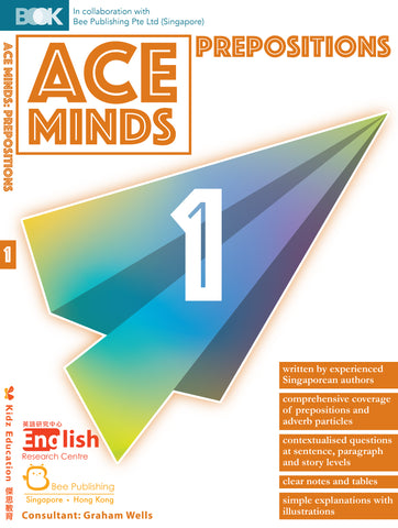 Ace Minds: Prepositions Books 1-6 - Kidz Education