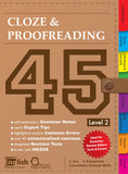 Cloze & Proofreading 45 Level 2 - Kidz Education
