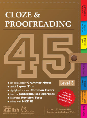 Cloze & Proofreading 45 Level 3 - Kidz Education