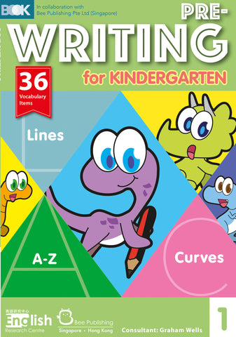 Pre-Writing for Kindergarten 1 - Kidz Education