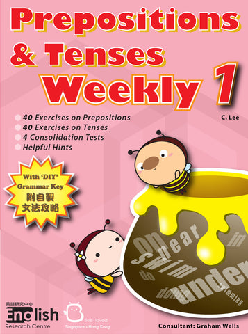 Prepositions and Tenses Weekly 1 - Kidz Education
