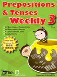 Prepositions and Tenses Weekly Books 1-6 - Kidz Education