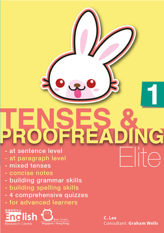Tenses & Proofreading Elite Books 1-6 - Kidz Education