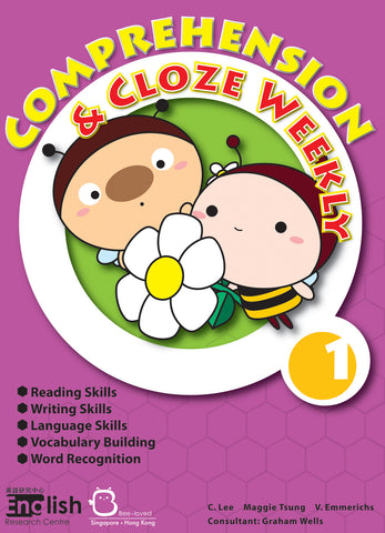 Comprehension and Cloze Weekly Books 1-6 - Kidz Education