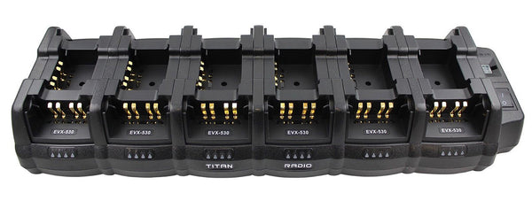 18 Gang Battery Charger for Vertex Standard EVX-261 EVX-531 EVX-534 EVX-539 Radios
