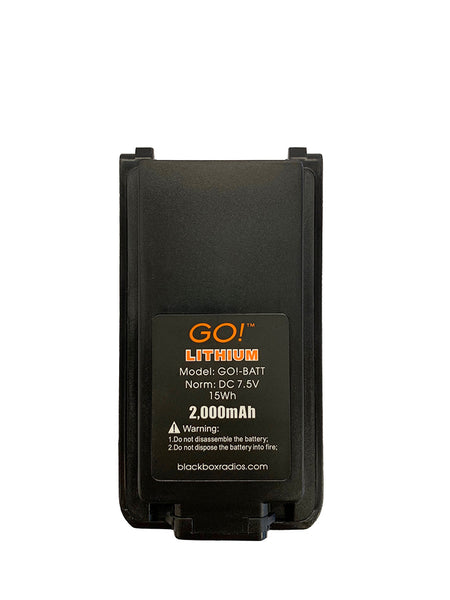 New OEM Blackbox GO! 2000mAh Li-Ion Battery