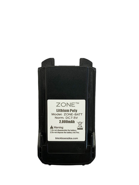 New OEM Blackbox Zone 2000mAh Li-Ion Battery