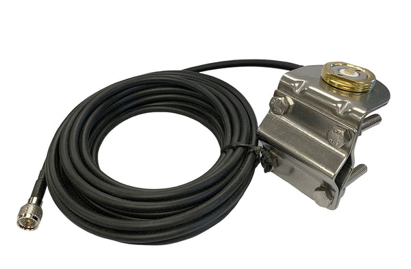 New Tram BR-1250 MUHF UHF NMO Mirror Mount Coax Cable