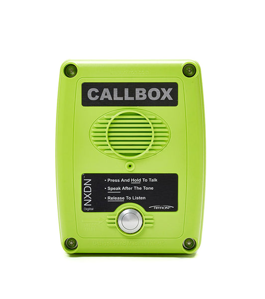 New Ritron RQX-417NX UHF 450-470Mhz 1Ch NXDN Digital/ Analog Green CallBox