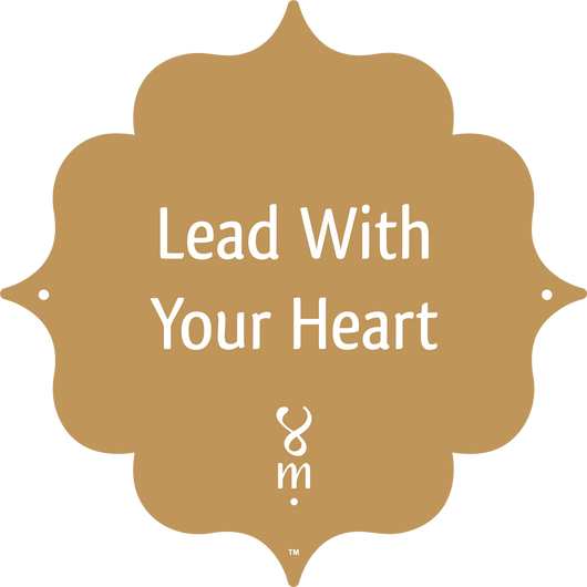 Gold Collection Lead With Your Heart MantraSpot