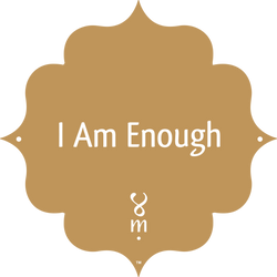 Gold Collection I Am Enough MantraSpot