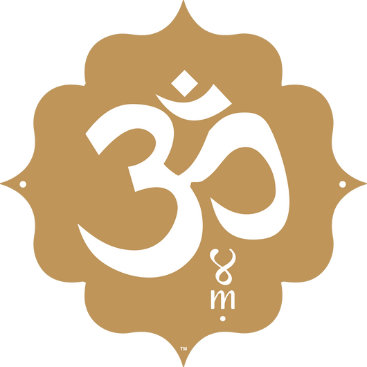 Gold Collection Om Symbol Mantraspot My Mat My Mantra