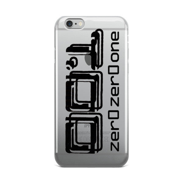 001 zer0zer0one Logo iPhone case