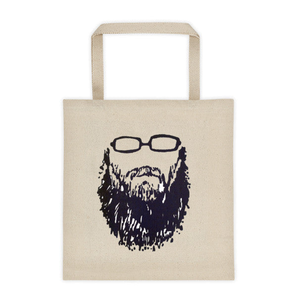 Self-portrait Beard and Glasses 001 Tote bag